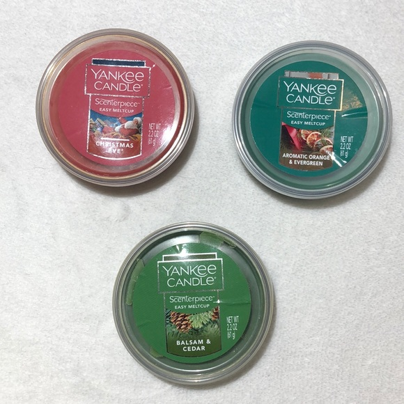 Holiday Scent Assortment Yankee Candle Melt Cups